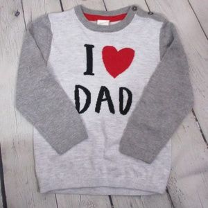 """H&M """"I love Dad"""" Toddler's Sweater"""